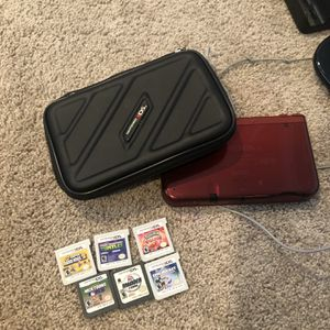 Nintendo 3ds XL With Case, Charger And 6 Games for Sale in Fort Lauderdale, FL