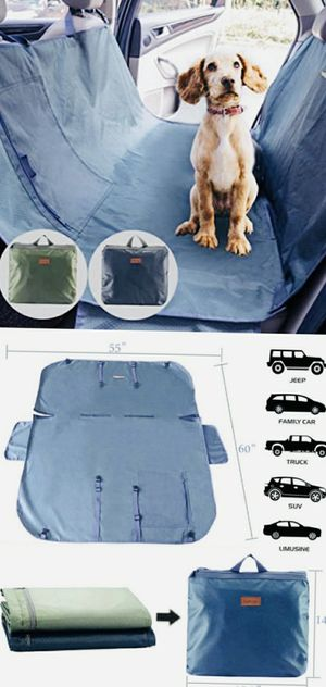 New PetBemo universal car seat dog cat pet cover waterproof stain proof machine washable soil resistsnt scratch proof hammock nonslip for Sale in Whittier, CA