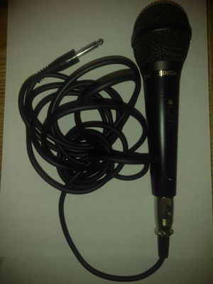 Microphone with mic cable wire for Sale in Pomona, CA