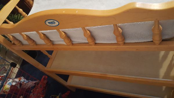 Real Wood Changing Table