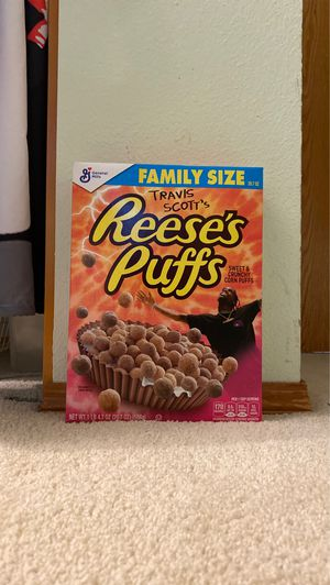 Travis Scott Reese's puffs cereal for Sale in Renton, WA