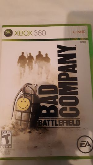 Bad Company Battlefield for Xbox360 for Sale in Tucson, AZ