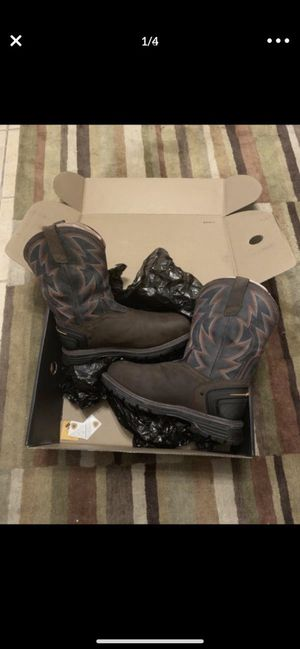 Work boots new! for Sale in Haines City, FL