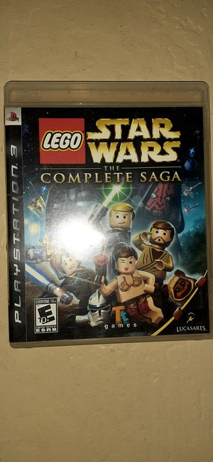 PS3 Lego Star Wars Complete Saga for Sale in Buckeye, AZ
