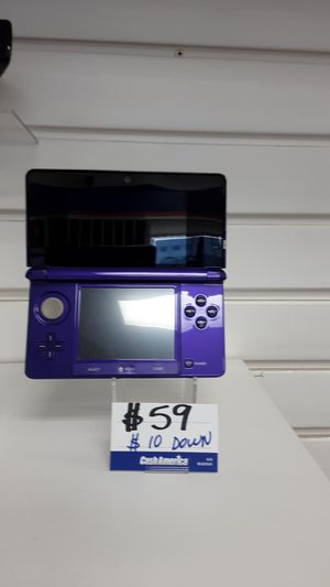 GAME SYSTEM NINTENDO 3DS MODEL #CTR-001 for Sale in Miami, FL