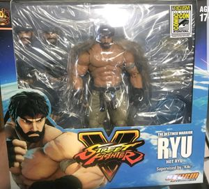 SDCC 2017 EXCLUSIVE HOT RYU Action Figure STREET FIGHTER V Bluefin x Storm Collectibles for Sale in San Diego, CA