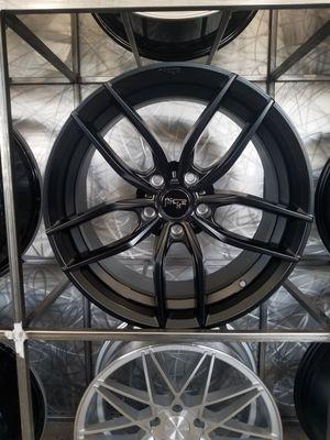 "PRICE PER WHEEL 20"" Niche Vosso matte black wheels first 5x114 mustang Infiniti Nissan rims for Sale in Tempe, AZ"