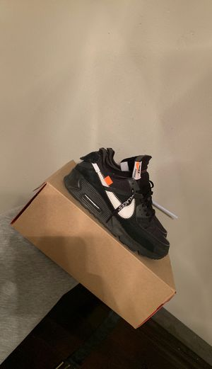 Off white air max 90 for Sale in La Habra Heights, CA