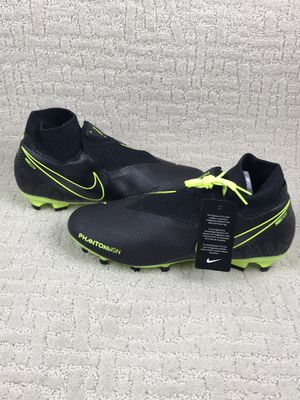 Nike Phantom Vision Pro DF FG - Black-Volt Men's AO3266-007 New without box for Sale in Kissimmee, FL
