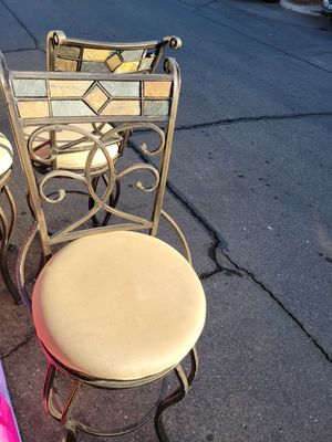 Wrought iron bar stools for Sale in Peoria, AZ