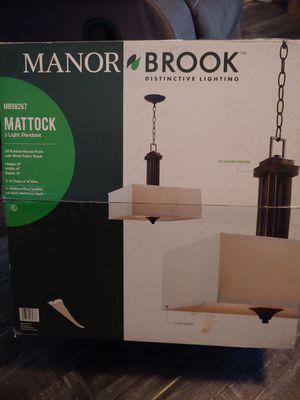 Manor Brook Mattock Hanging Light for Sale in Buckeye, AZ