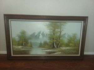 G. Lantrell mid century oil painting for Sale in Queen Creek, AZ