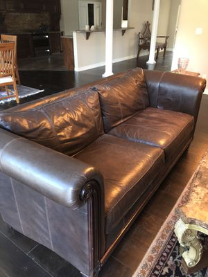 Leather sofa for Sale in Victoria, TX