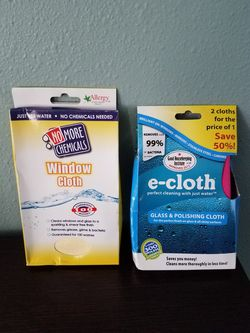 NEW E-Cloth Glass & Polishing Cloth and Window Cloth for Sale in Richland,  WA