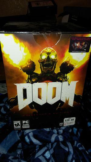 Doom collectors edition brand new for Sale in Wichita, KS