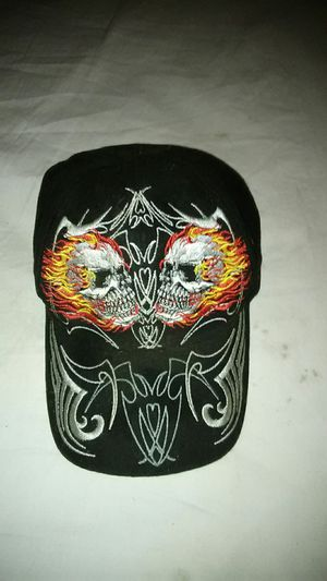 Hat flaming sculls for Sale in Modesto, CA