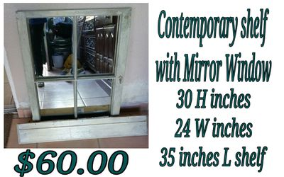 mirror window and shelf for Sale in Hacienda Heights,  CA