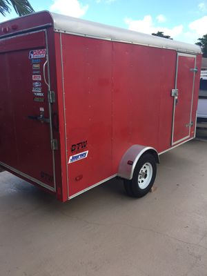 Enclosed cargo trailer 6 x 12 Pace Journey (2017) for Sale in Deerfield Beach, FL