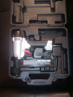 Porter Cable finish nailer ns150c for Sale in San Diego, CA