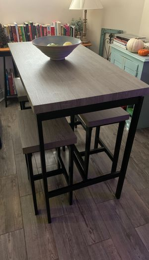 Modern kitchen table with chairs for Sale in Washington, DC