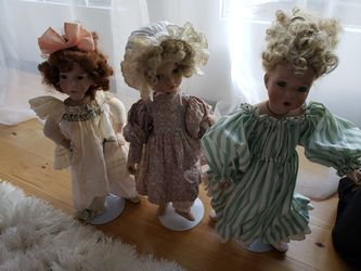 Vintage Glass Porcelain Dolls for Sale in Portland,  OR