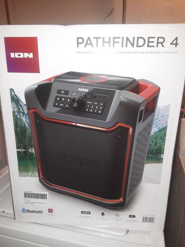 New never use ION bluetooth speaker