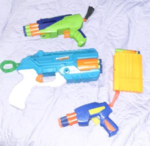 Awesome 4 piece Nerf Gun and dart lot for Sale in Albuquerque, NM