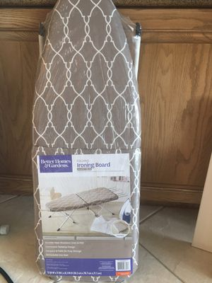 New Home and Gardens foldable ironing board for Sale in Aventura, FL