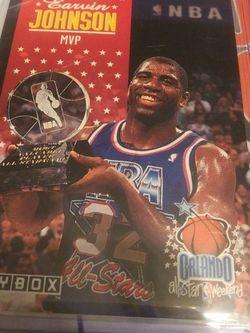 SWEET 1992 SKYBOX MVP ALL STAR WEEKEND MAGIC JOHNSON MINT CARD for Sale in Las Vegas,  NV