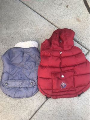 2 Small Dog's Jackets ( for very small dogs) for Sale in Newport Beach, CA