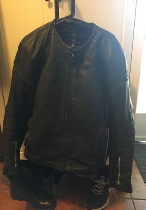 Alpinestars Leather Black Jacket for Sale in San Diego, CA