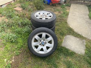 Bmw style 45 wheels and tires for Sale in Wrightsville, PA