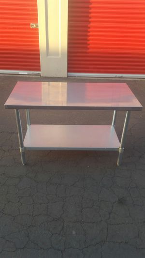 GSW All Stainless Steel Flat Top Work Table NSF Approved WT-P2448 for Sale in Sacramento, CA