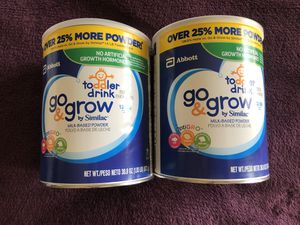 Similac Toddler 12-36months-New (2 cans) for Sale in Baldwin Park, CA