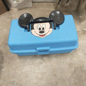 Vintage Disney Mickey Mouse Tackle Box for Sale in West Palm Beach, FL