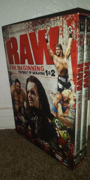 WWF RAW The Beginning DVD set for Sale in Phoenix, AZ