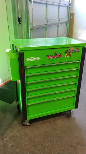 Snapon flip top rolling box for Sale in Valparaiso, FL