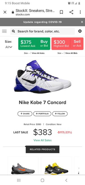 Kobe 7 for Sale in Los Angeles, CA