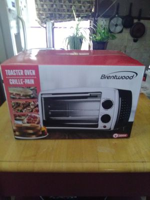 Brand New Never opened Brentwood toaster and grill oven for Sale in Wichita, KS