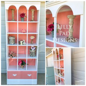 Coral Bookcase for Sale in Stafford Township, NJ