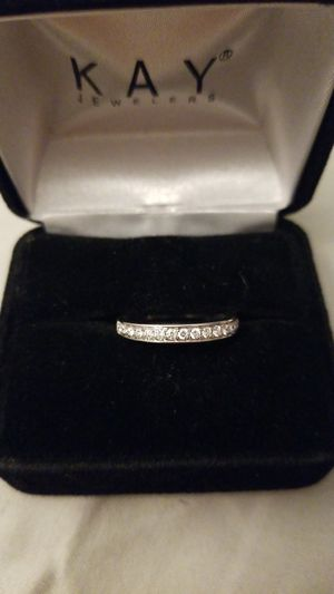 Bridal set Diamond (1/5 ct.) white gold size 5 for Sale in La Mesa, CA