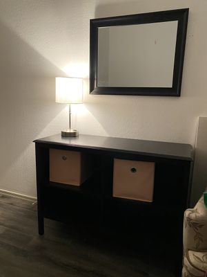 Small book shelf and mirror for Sale in Peoria, AZ