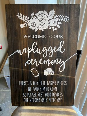 Wedding Photographer Sign for Sale in Suffolk, VA