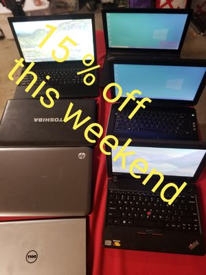 LAPTOPS 15 % OFF THIS WEEKEND ONLY for Sale in Chino Hills, CA