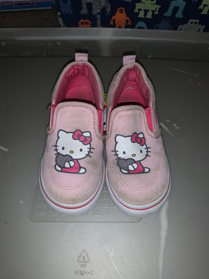 Toddler Vans Hello Kitty Shoes for Sale in Apple Valley, CA