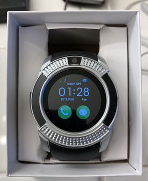 V8 Sport Smart Watch (Silver) for Sale in Norco, CA