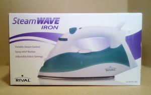 White/Teal Rival Steam Wave Iron for Sale in Fairfield, CA