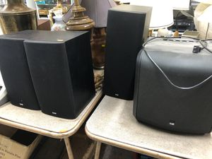 B&W BOWERS AND WILING BOOKSHELF STUDIO MONITORS SPEAKERS SURROUND SET WOOFER ETC ADDRESS IN AD for Sale in Los Angeles, CA