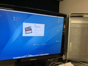 Mac G5 add solid state HD has FCP Editing Software for Sale in Fairfield, NJ