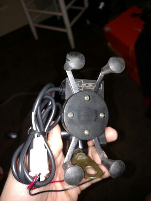 USB phone mount for motorcycle for Sale in Cheney, KS